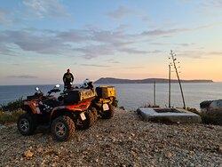 Quad safari military adventure on Vis