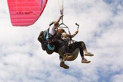 Paragliding around Medellin!
