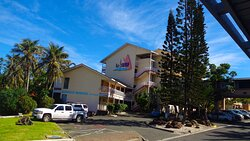 ╭▥◻ LE SURF HOTEL Main Building ▪ ▫ NEW CALEDONIAN Historical Heritage ◻▥╮Anse Vata bay