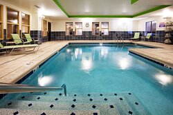 Have fun in our heated salt water pool!