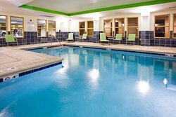 You will enjoy our indoor salt water pool!