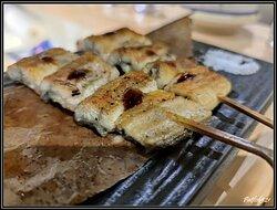 燒白鰻魚,加了點柚子皮及自家製醬汁。鰻魚先蒸後燒,魚質還是滑溜無比,此外還有燒過香味,好食。