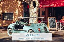 Louer une minimoke à Saint Tropez