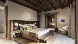 Ariadni Villa Master Bedroom