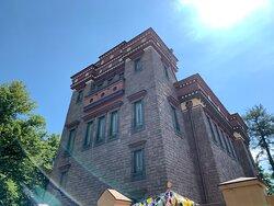 """Здание буддийского храма """"Дацан Гунзэчойнэй"""""""