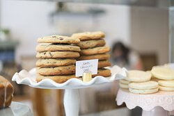 Jumbo Chocolate Chip Cookies.