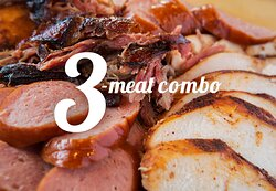 3 meat combo