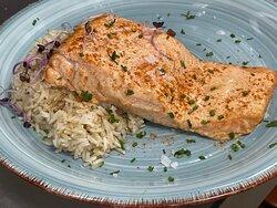 Tandoori de salmó amb arròs Basmati