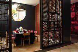 Private room at Fuzion Asian restaurant
