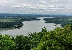 Long lake view.