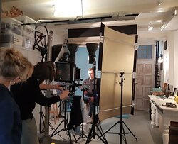 Session with Martijn in the Silver Portrait Store.