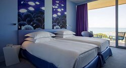 Superior Room Twin Beds Sea View and Balcony