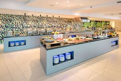 Breakfast buffet at The Fig Leaf