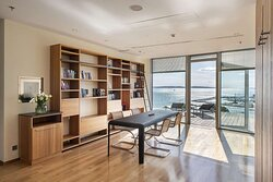 Penthouse Suite - Library