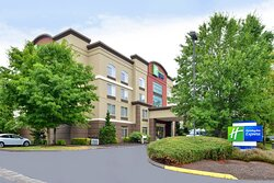 Front exterior Holiday Inn Express Hillsboro