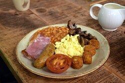 breakfast in Knight's village