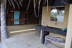 Beach villa Bathroon