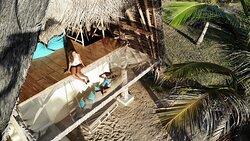 Beach Villa upper deck