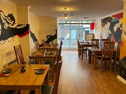 Our new restaurant in Exeter.