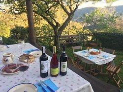 Our beautiful panoramic terrace Il nostro giardino panoramico