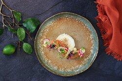 Zalmfilet met frisse salsa van tomaat, basilicum en knoflook