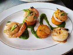 shrimp + polenta