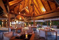 JA Manafaru - Ocean Grill Restaurant.