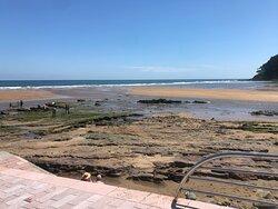 Zona de rio, de piedra, de arena...