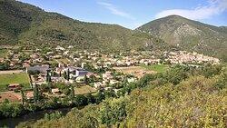 Cave de Roquebrun et village