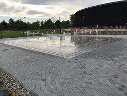 Tańczące Fontanny w Busku Zdroju