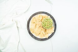 Chips and some yummy guac.