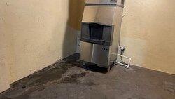 Leaking ice machine with urine.