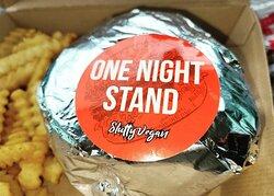 Slutty Vegan's One Night Stand Vegan Burger
