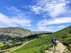 walking back towards Glenridding, such amazing views