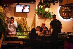 Restaurante para disfrutar con amigos