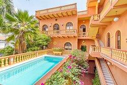 Zona de Descanso Casa Morales Cartagena by Soho