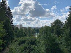 "Холм ""Парнас ""  в  Шуваловском парке"