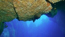 Unterwasserbrücke