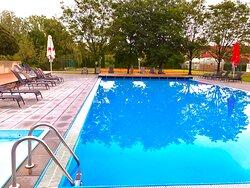 Plavecký bazén v hotelu Galant Lednice