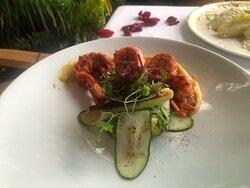 Shrimp ready to eat!