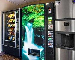 Hotel vending areas