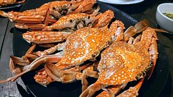 Seafood: Steamed Army of Blue Swimmer Crabs - ปูม้าเป็นนึ่ง 🦀🦀🦀🦀