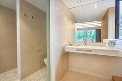 Baño habitación Doble Olivos