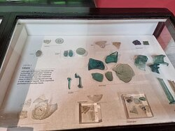 Some of the remains found on the site