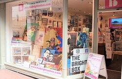 The display window at The Brighton Box