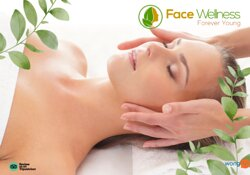 Full face massage, firming, rejuvenating, facing science.