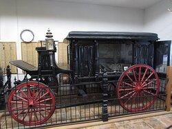 actual hearse!