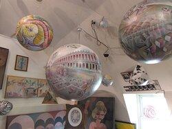 several spheres