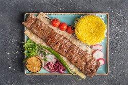 Barg Chelo kebab