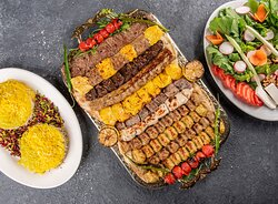 Special Mix Kebab Platter for four